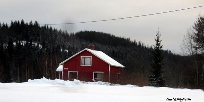 Onnivaara, Halivaara, Petrovaara ovat lumisia seutuja