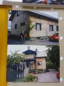 Isänisän rakentama ensimmäinen omakotitalo löytyy yhä Harjunalustankadulta Lahdesta.