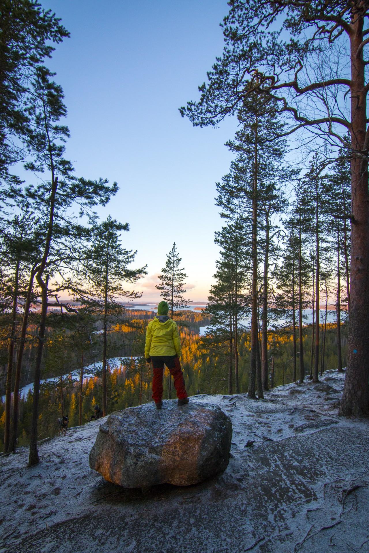 Hyyppäänvuori, Laukaa. Tällaisissa maisemissa uusi blogi pyörii usein! Käy lukemassa!